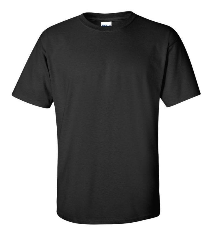 Gildan 2000 - Black Adult Ultra Cotton Tshirt