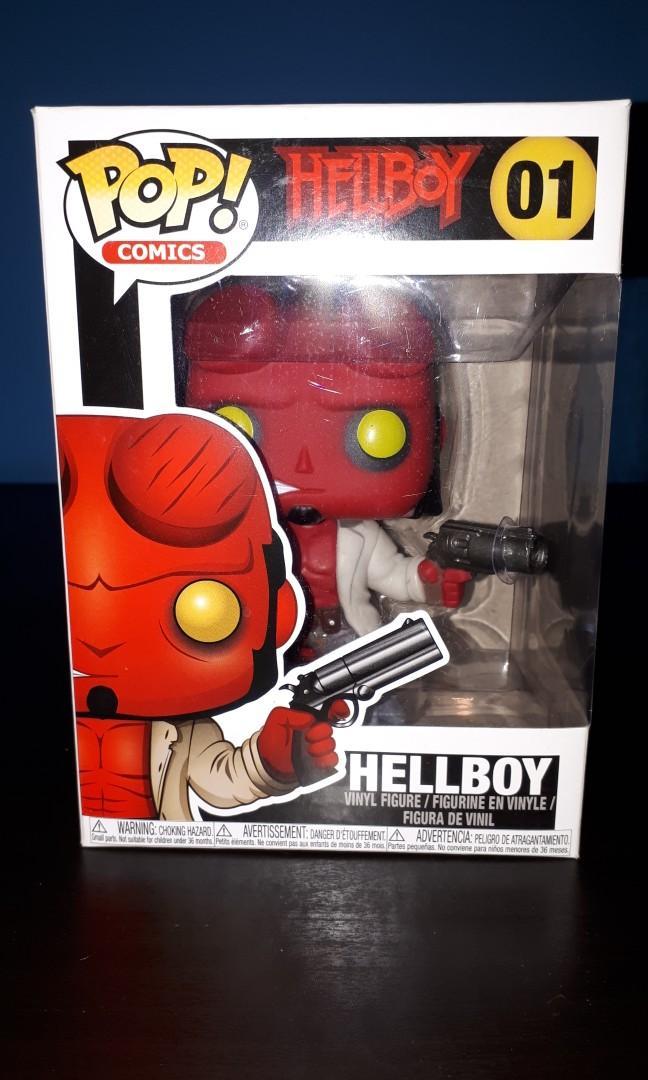 Hellboy POP Figure Comics #01