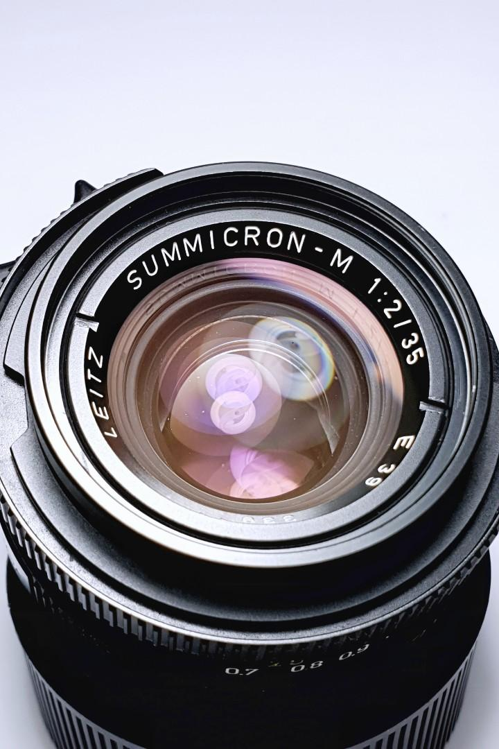 Leica 35mm f2 Summicron pre-ASPH v4 Bokeh King Lens fits Zeiss Voigtlander Canon Nikon Fuji Sony Cameras