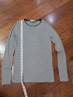 MANGO Soft Striped Shirt size XS