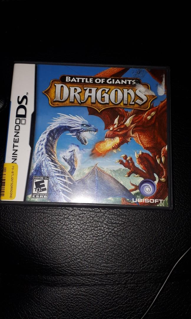 Nintendo DS Games BATTLE OF THE DRAGONS Brand New