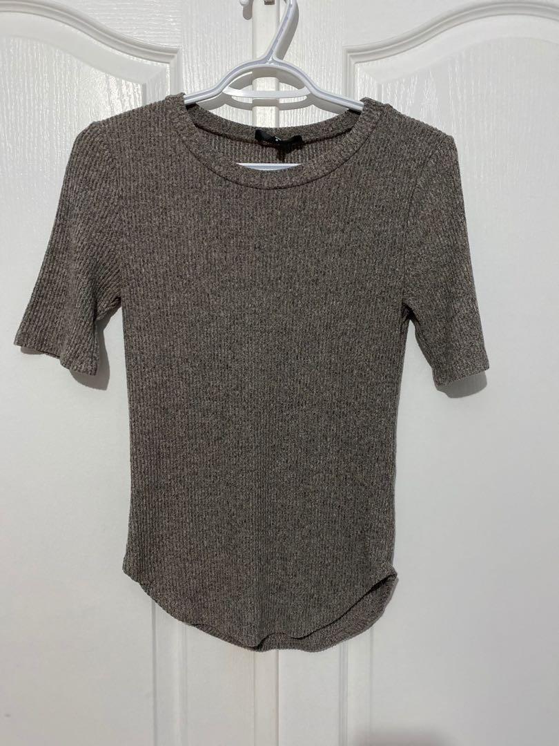 Ribbed t shirt