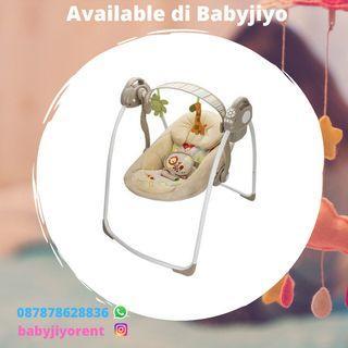 SALE - Sewa bouncer baby swing baby walker stroller etc.