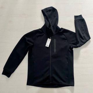 Uniqlo Dry Stretch Sweat Full-Zip Hoodie Large