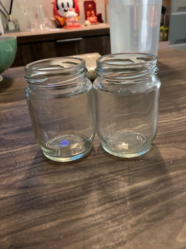 玻璃圓罐(無蓋)120cc
