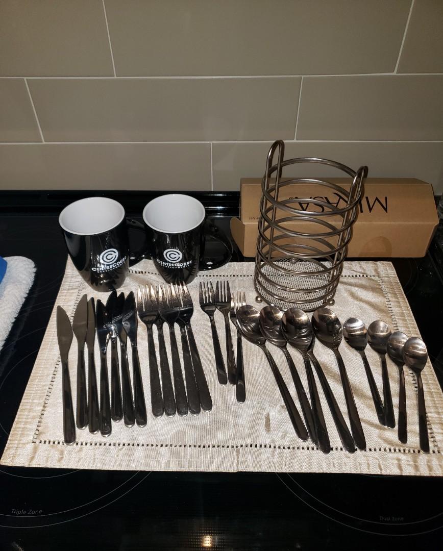 24-piece Cutlery Stainless Steel BUNDLE
