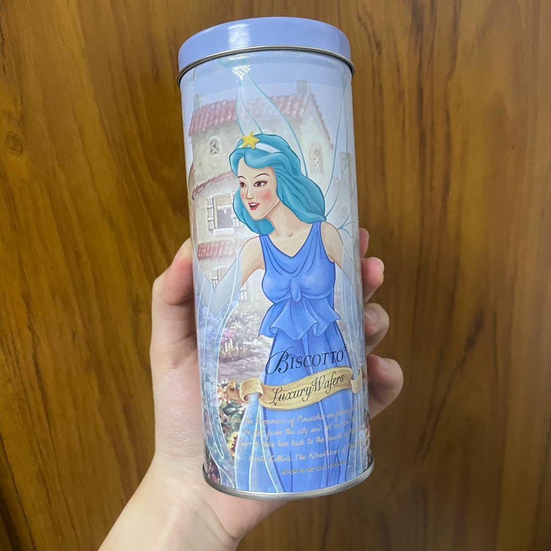 皮諾丘 小木偶 仙女 鐵罐 鐵盒