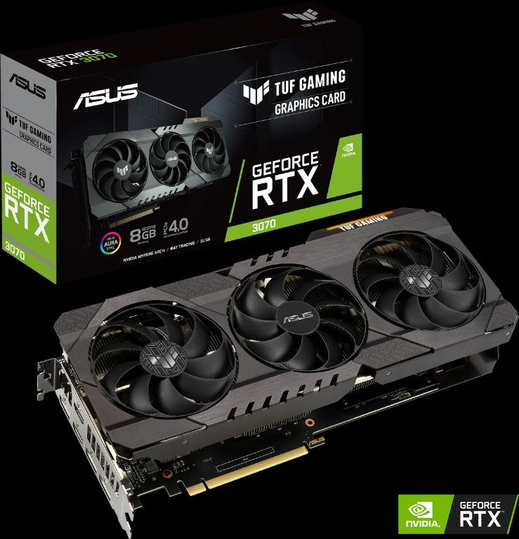 ASUS TUF GAMING GeForce RTX 3070 OC 8GB GDDR6
