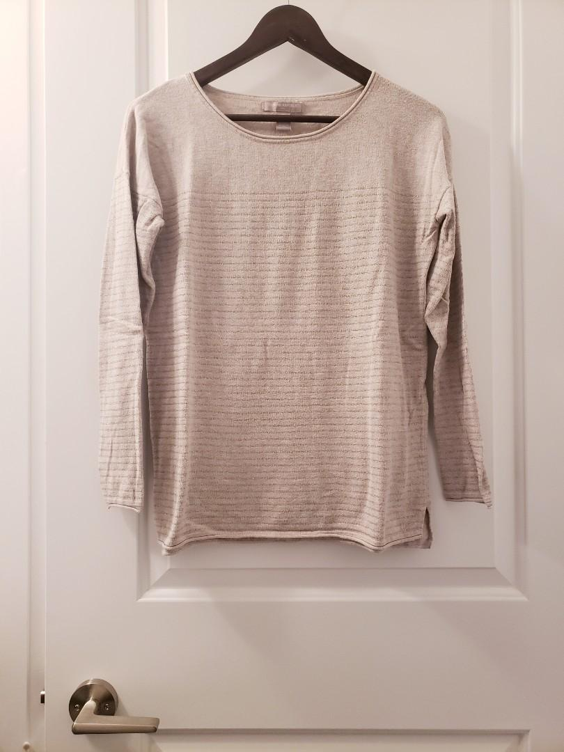 Banana Republic Beige Sweater Top - Size S