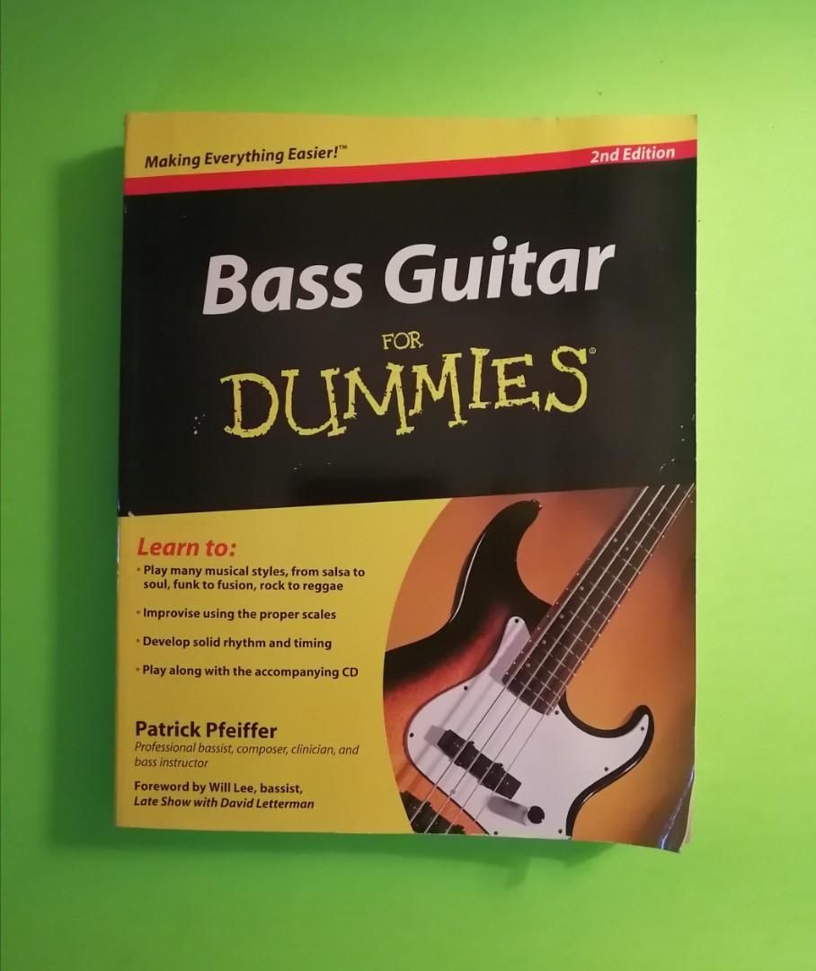 Bass Guitar For Dummies book