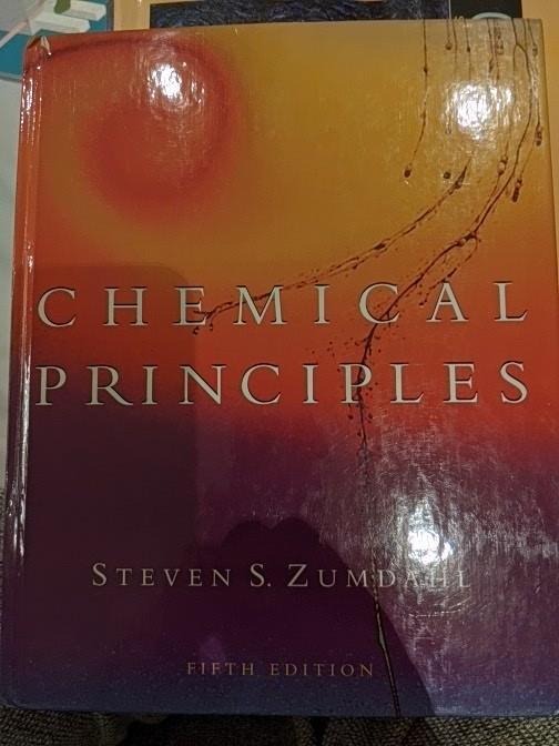 Chemical Principles, 5th edition