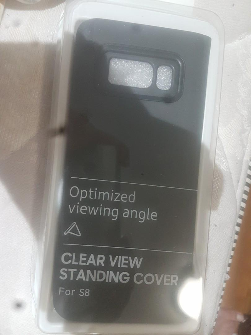 Clear view  standing  cover  fors8