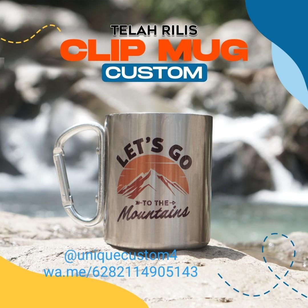 Clip Mug Custom