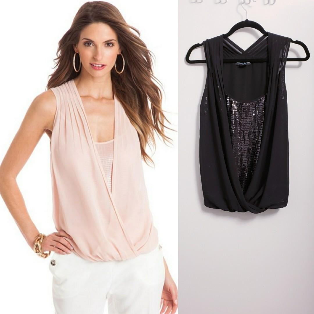 Marciano Black Blouse - Size XS/S