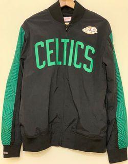 Mitchell & Ness NBA Warm Up Jacket  側條紋熱身外套