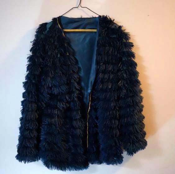 Plus Size Faux Fur Coat Fits Up To 2XL!