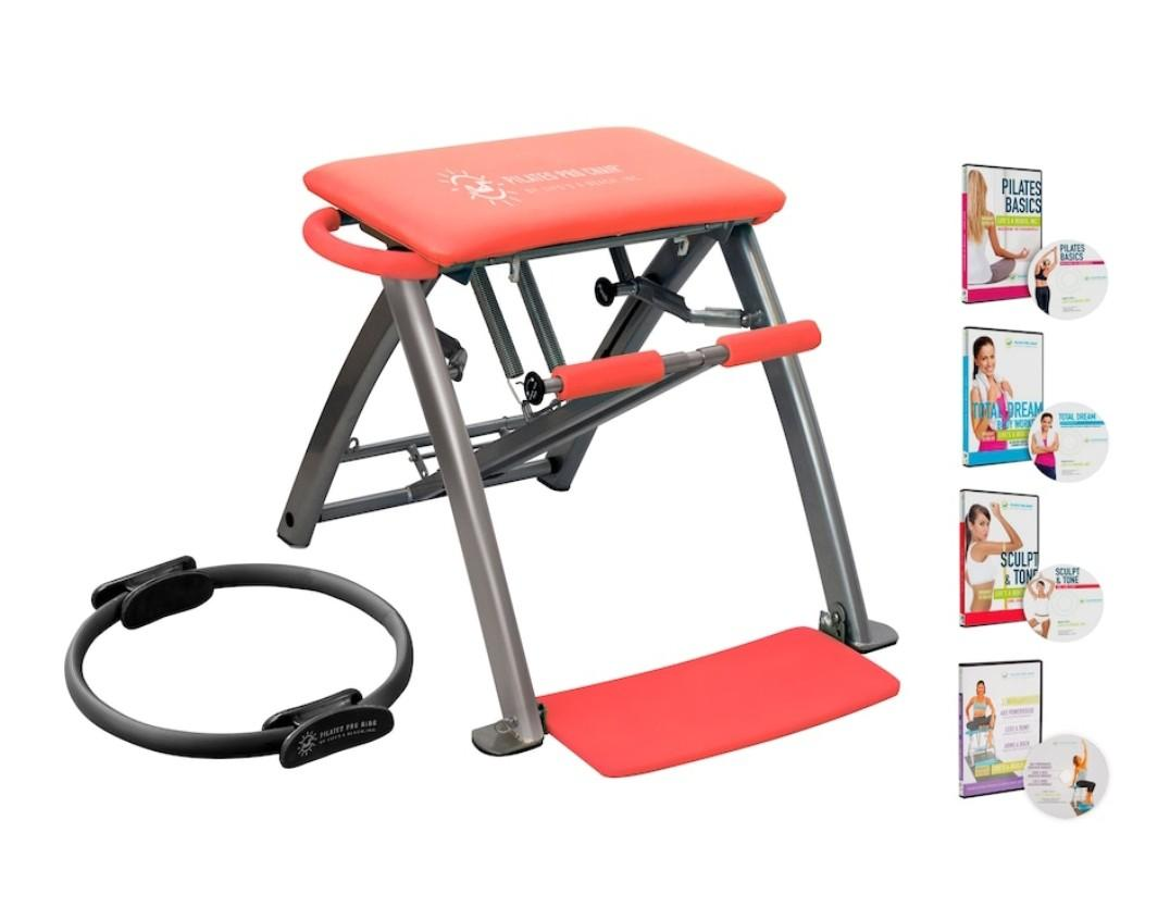 Pilates PRO Chair by Life's A Beach (Red)