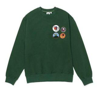 {READYSTOCK} OFFICIAL BTS - IN THE SOOP SWEATER 05 (GREEN/ SIZE = M)