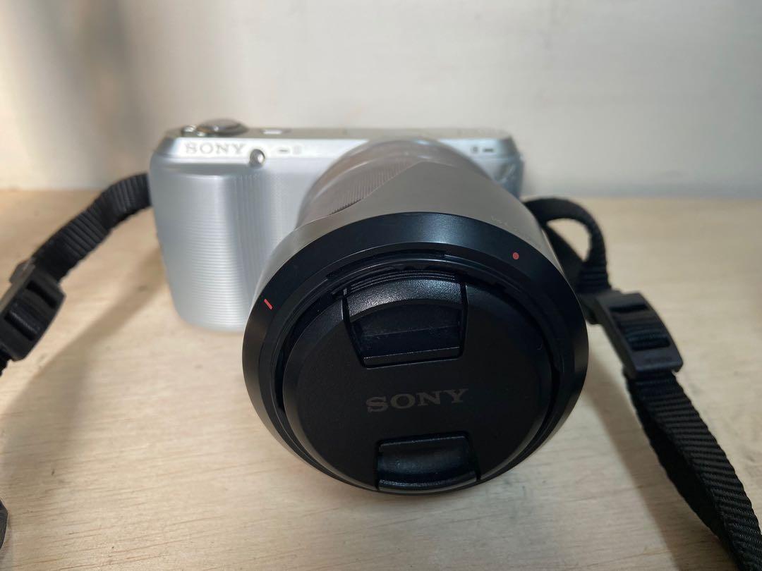 二手SONY NEX-C3微單眼 +鏡頭 Sony E 18-55mm  零件機