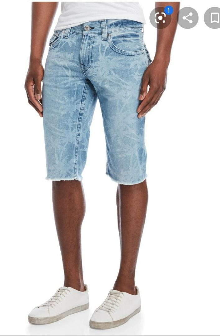 True Religion Men's Size 34 Shorts