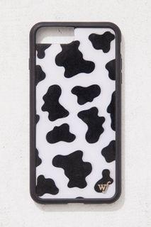 Wallflower Cow Print Case IPhone 8Plus