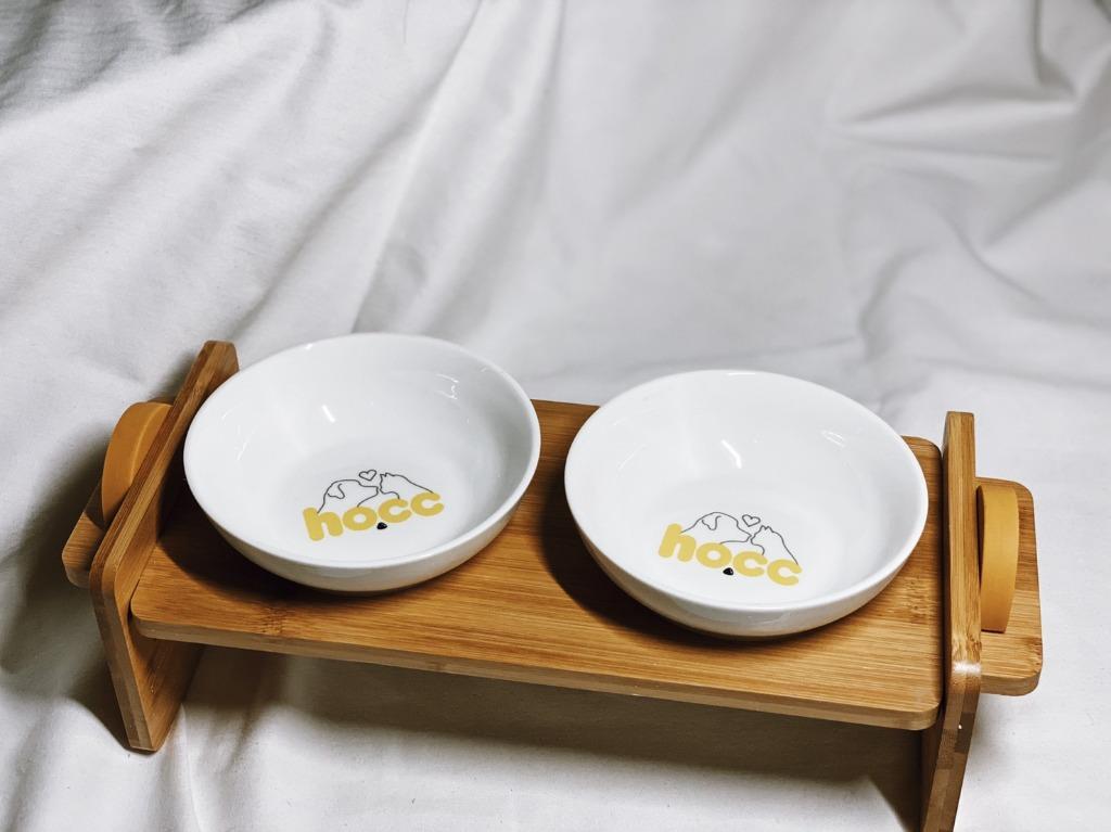 (新品)木製食盆 貓碗架 狗碗架 雙碗 木製碗架