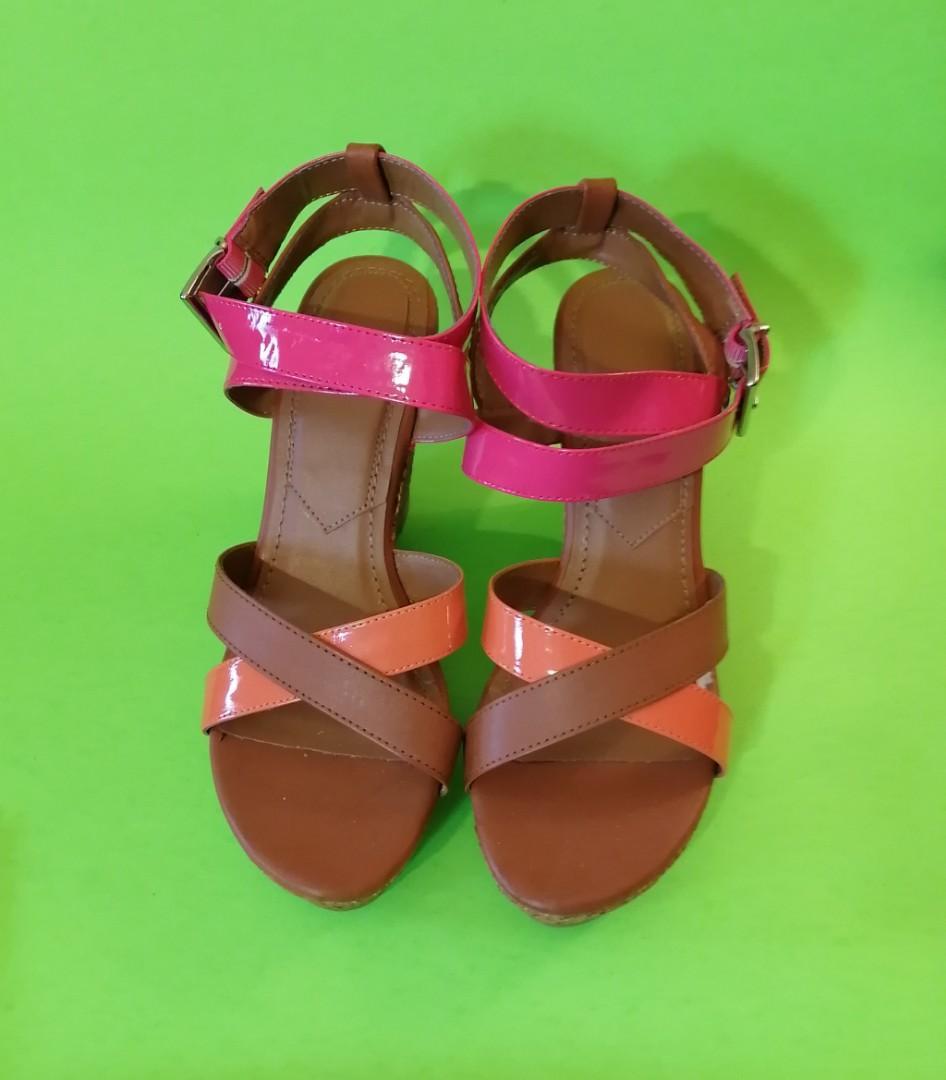 Avon Block Wedge Heels