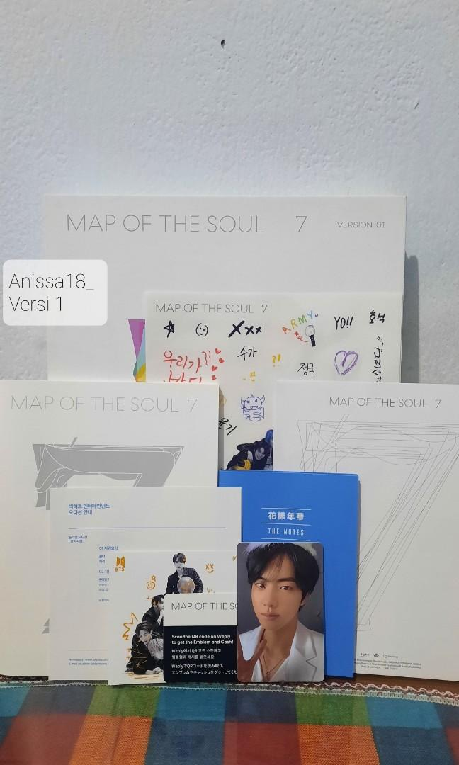 BTS Album - MAP OF THE SOUL : 7 + Poster