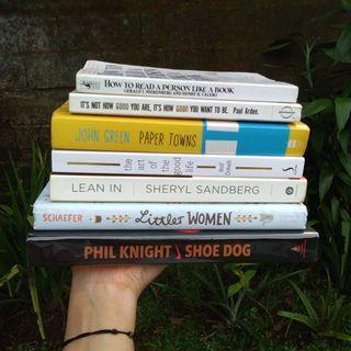 Buku import preloved original shoe dog lean in the art of the good life