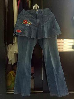Celana Jeans Rok Cutbray