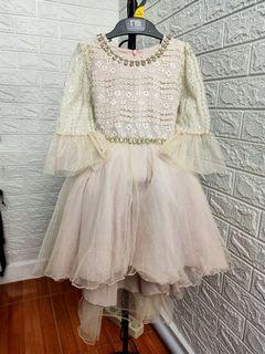 SALE NEW YEAR NETT PRICE dress gaun pesta anak pastel cantik elegant