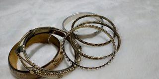 Gelang bangles emas bundle