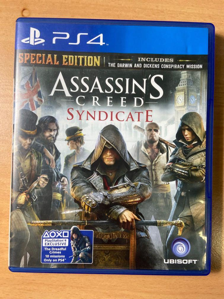 Kaset PS4 - Assassin's Creed Syndicate
