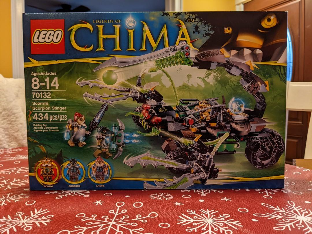 Lego Legends of Chima Scorm's Scorpion Stinger