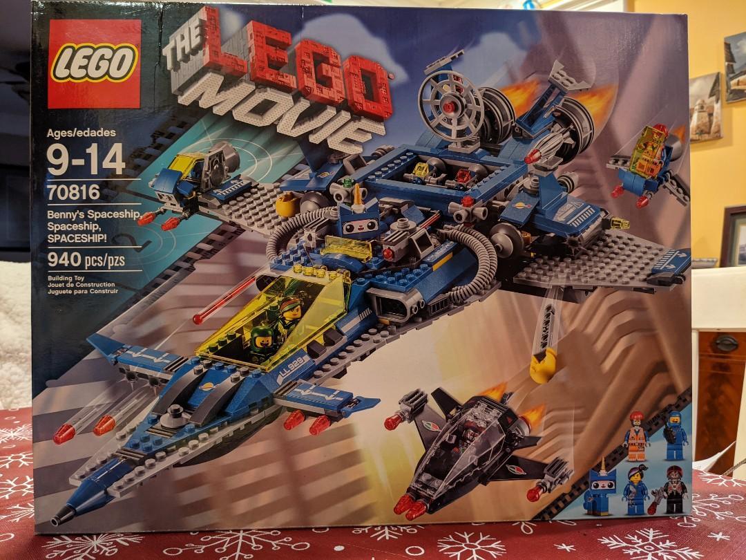 Lego The Lego Movie Benny's Spaceship