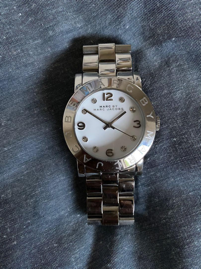 Marc jacobs Amy watch silver