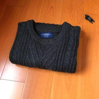 《清倉》PULL&BEAR 毛衣-黑色