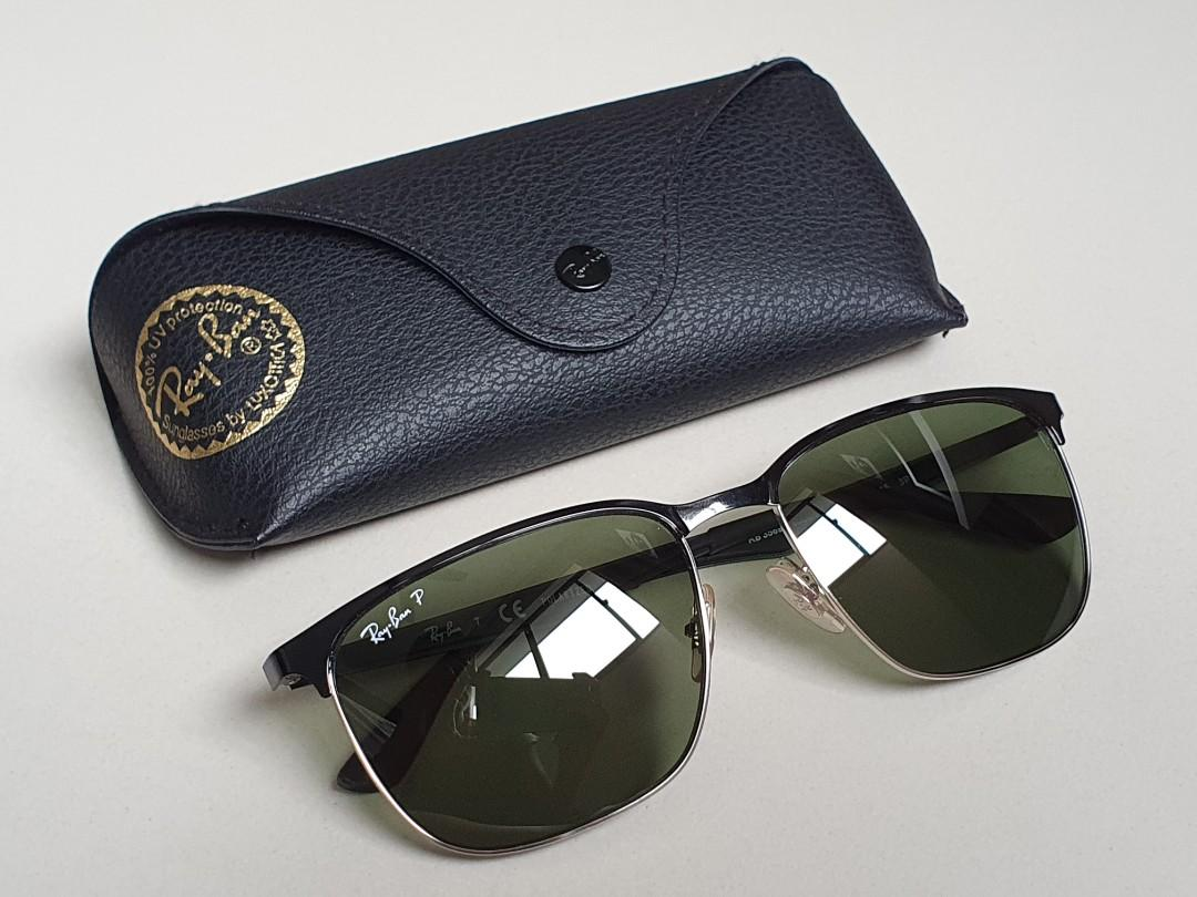 Ray Ban RB20 POLARIZED Sunglasses 20A, Men's Fashion, Watches ...