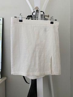 Shein linen skirt