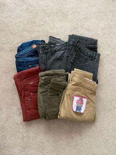Skinny Jeans Bundle (24-25)