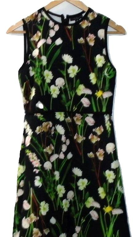 Victoria Beckham for Target Floral Dress, XS