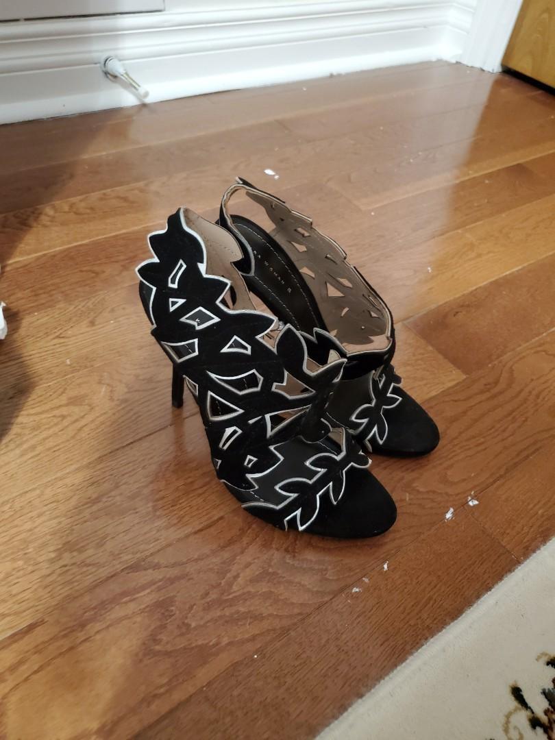 Zara high heels size 8