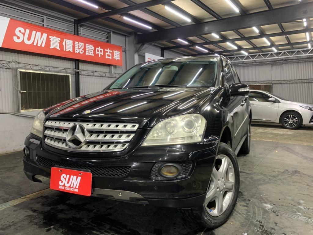 正2008年出廠 Mercedes-Benz ML350 實車實價27.8萬