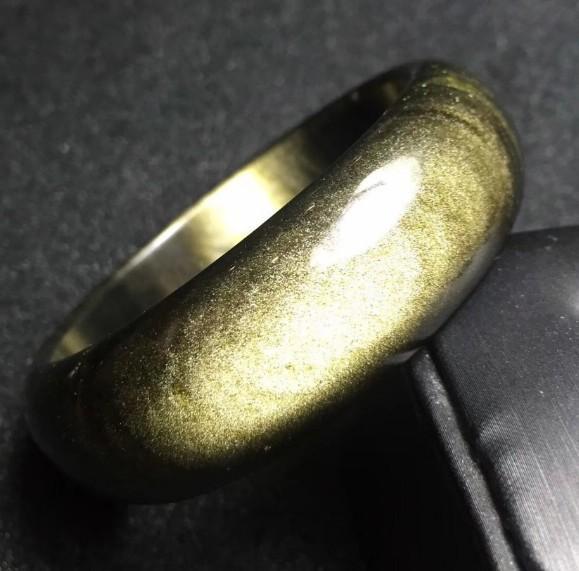 龍紋金砂手環