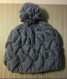 CACO百貨專櫃灰色毛帽帽子