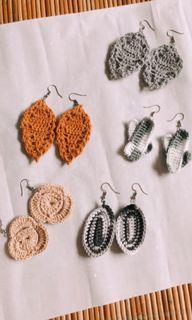 Anting Handmade Rajutan