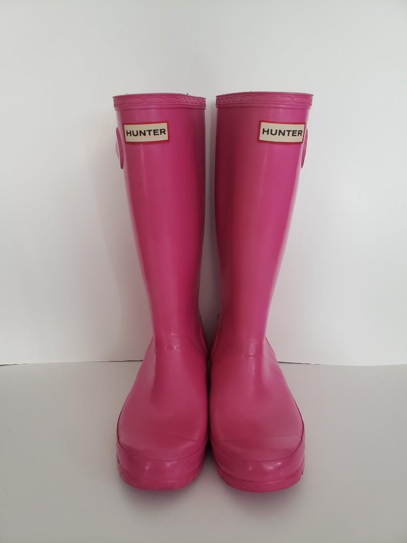 Hunter Big Kids Rain Boots W23991
