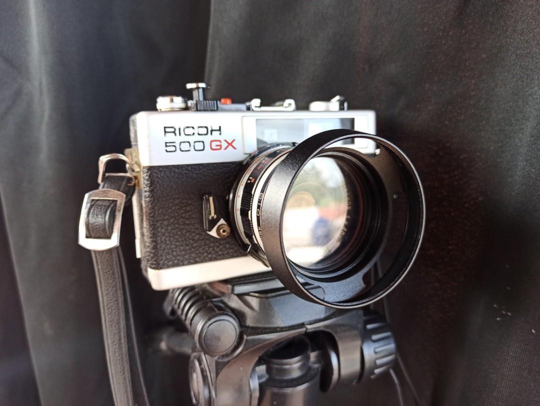 Kamera Analog Film Rangefinder Ricoh 500 GX