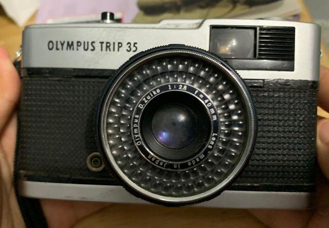 Kamera Analog Rangefinder Olympus Trip 35