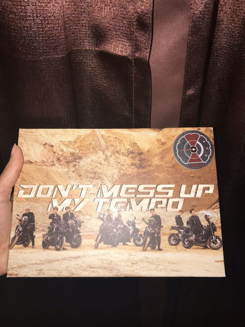Preloved Album Don't Mess Up My Tempo